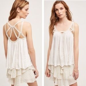 VANESSA VIRGINIA strappy goddess tank top K8